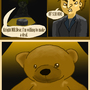 Mr.Bear In Questioning by theredcastlecrasher