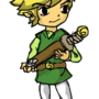 Toon Link by SqueegeeMcGee