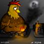 Demon Chicken by Trollfriend