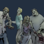 More Zombies by radioactiveroach
