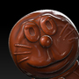 Doraemon (Chocolate version) by Silvertwilight