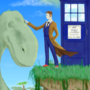 The Doctor and the Dinosaur by agentspymonkey
