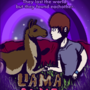Llama Love Story by scuddle