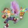 Crash Bandicoot by Emanhattan