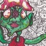 Mushroooooms by acillustrations
