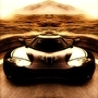 Car In The Desert by 00Nick00