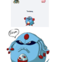 Tentasey - New Pokemon Fusion by JackSquatJB