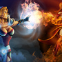 Crystal Maiden Vs. Lina by Jazza