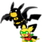 Poke-man and Boy Pichu