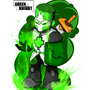NG RUMBLE 2- GREEN KNIGHT by MAKOMEGA
