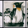 Penguin Triptych by Sabtastic