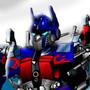 OptimusPrime standing by FiendMachine