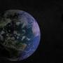 Earth in space by warkarma