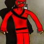 Red Ninja by Bortevekk