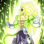 Prince Vegeta SSJ5 green by Rennis5