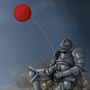 Balloon Knight by FriendlyViolence