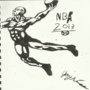 NBA Sketch by JayKay259