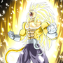 ssj5 Vegeta gold by Rennis5