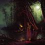 Albert Bierstadt Master Study by Xenzo