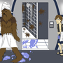 A Wookie Took a Bathed Here! by IshSkillz