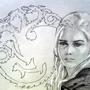 daenerys by MZLART