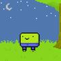 Pixel Cartoon Armless Guy by Clyphe