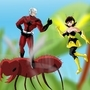 Antman and Wasp by bocodamondo