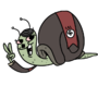 Hitler Snail by Chickenlump