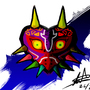 Majoras mask by tatsumaru7