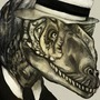 Allosaurus Capone by KilljoyReiko