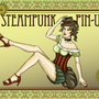 Steampunk Pin-Up by IshSkillz