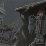 Scrapyard guardian robot by Breaktroll