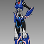 Transformers Prime Arcee by MylesAnimated