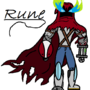 Rune doodle by TessaWuff