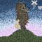 Pixel art Hedgehog