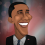 Obama Caricature by nandobentzen