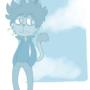 Sad Cat by MrWife