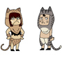 Cat people by RoRo-Royerboat
