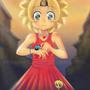 Lisa Simpson (Manga style) by FoxShift