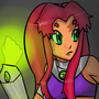 Starfire by stubbornstallion
