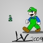luigi by nicksoul
