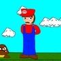 Mario fanart by dumbdogdevin