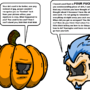 Pumpkin and Kombat Lock by AwesomeSauceUK