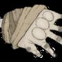 Mummy hand by UnderARock