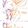 Fennec Hug by bloominglove