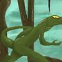 Lizardman by Nqkoi1