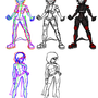 2D Game Sprites (Andy & Rook) by vcrock
