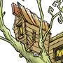 My treehouse by Lennaerd