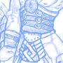 armor sketch by Sirrolandproduction