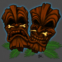 Tiki Masks by corporatefilth